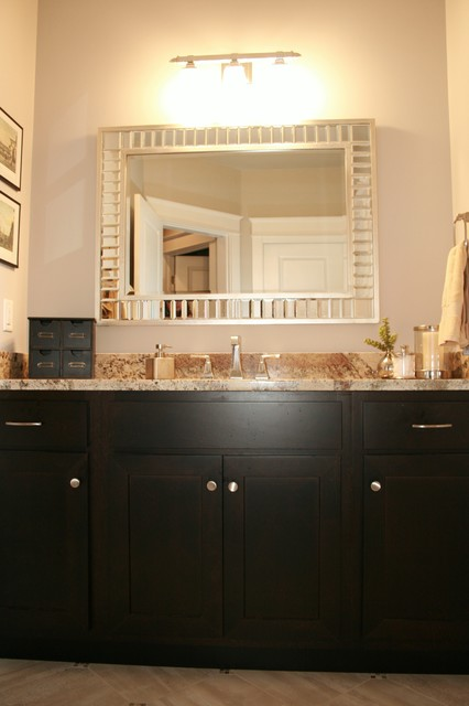 Contemporary bathroom peoria illinois for Bath remodel peoria il