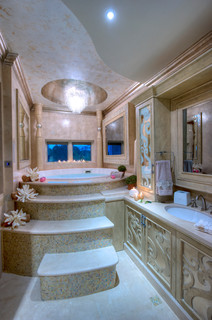 Emirates hills dubai uae contemporary bathroom miami by perla lichi design Bathroom design jobs dubai