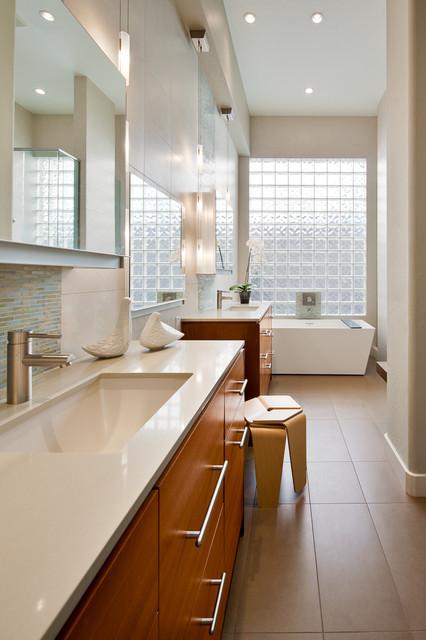Contemporary Bathroom Remodel In Paradise Valley Az