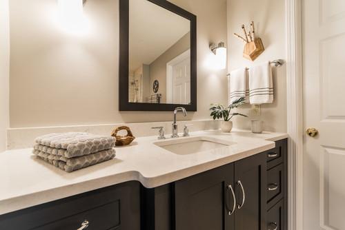 Contemporary Bathroom Renovation in Fox Valley IL