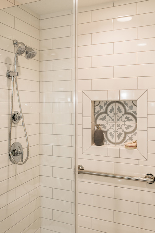 Walk-in Shower Renovation in Fox Valley IL