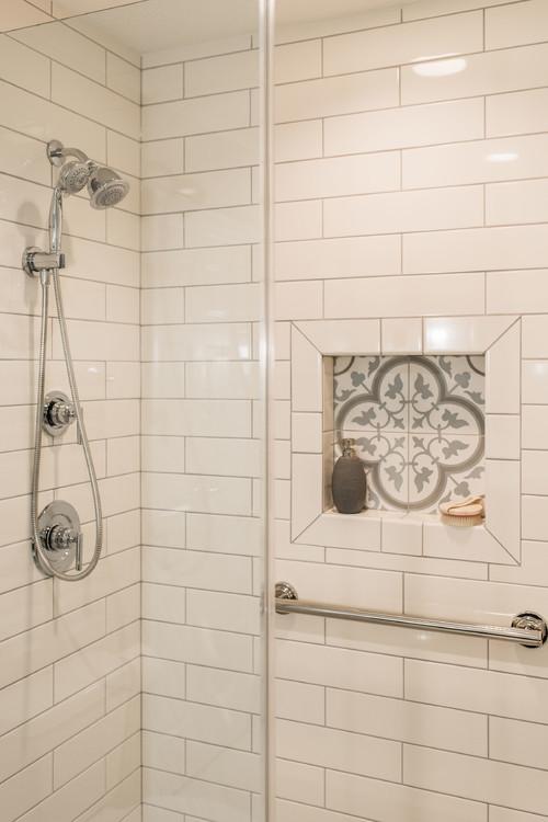Walk-in Shower Renovation in Fox Valley IL