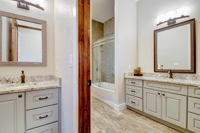 Contemporary Bathroom Remodel Transitional