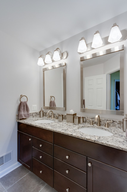 Contemporary Bathroom Remodel - Maple contemporary-bathroom