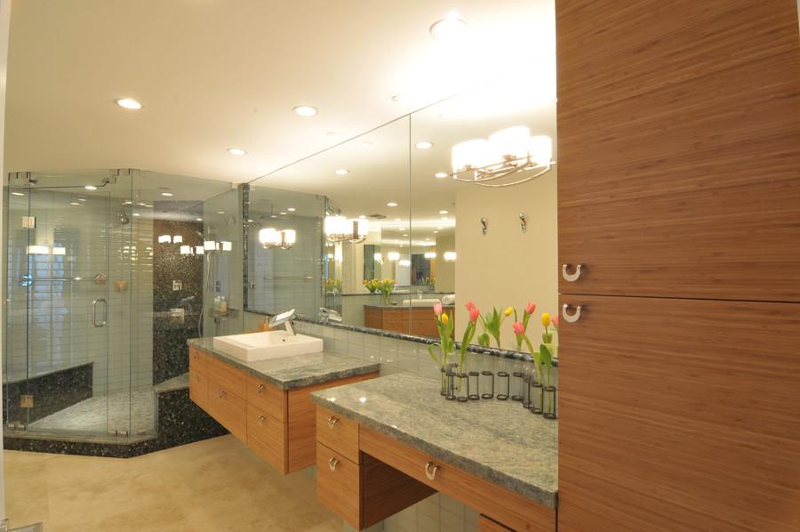 Contemporary Bathroom Remodel (Miami, FL) - Contemporary ...