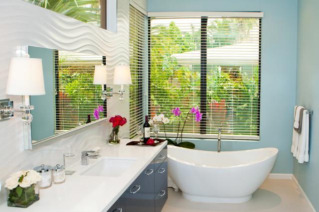 Contemporary Bathroom Remodel Miami FL Contemporary Bathroom Miami