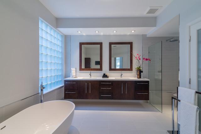 Contemporary Bathroom Remodel Miami FL
