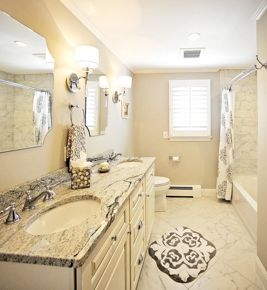 Contemporary Bathroom Remodel - South Windsor, CT - 2016 ...