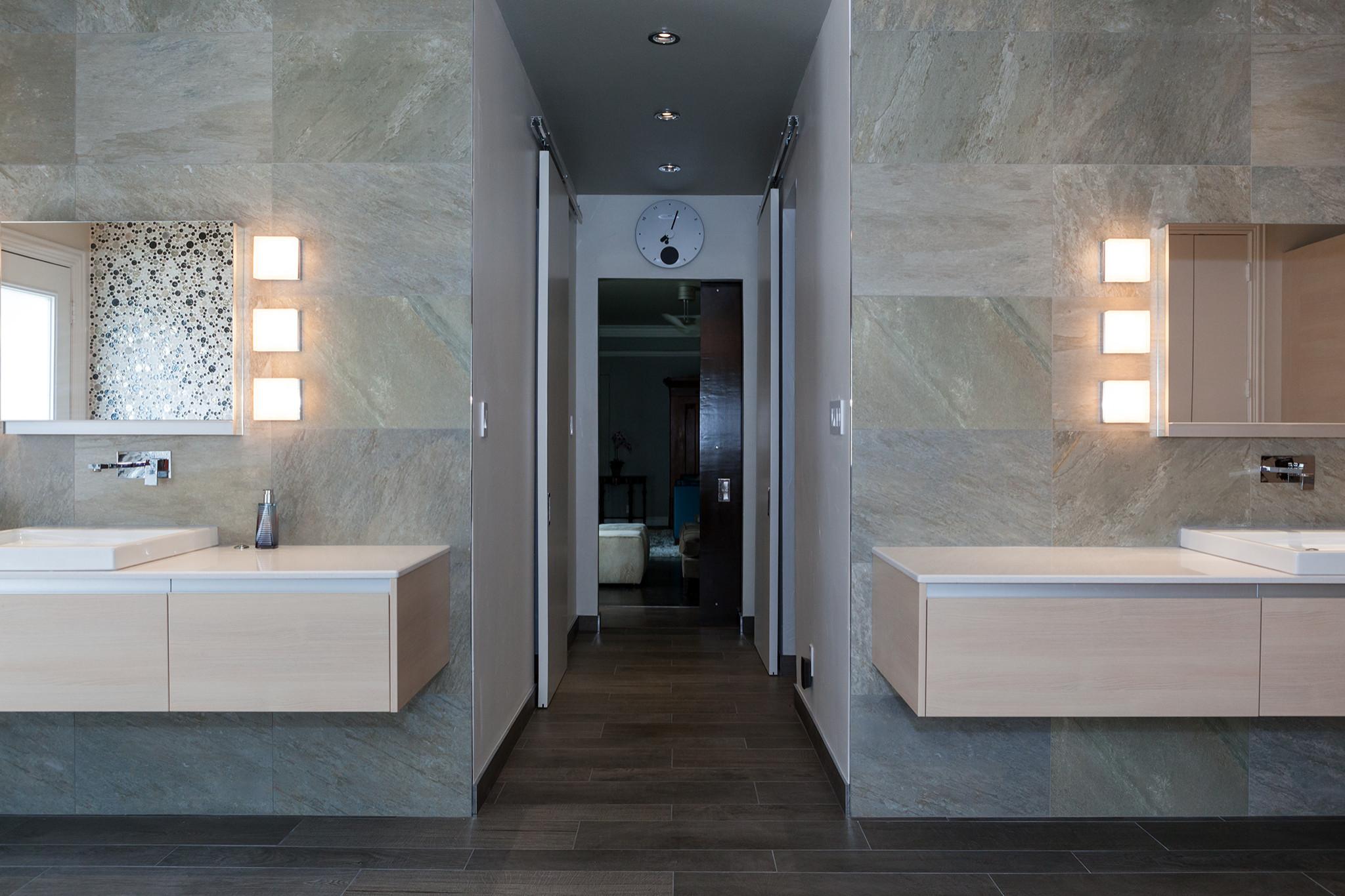 Contemporary Bathroom Remodel