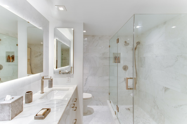 Contemporary Bathroom Remodels Washington, DC By Reico Kitchen U0026 Bath  Transitional Bathroom