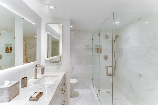 Contemporary Bathroom Remodels Washington DC By Reico