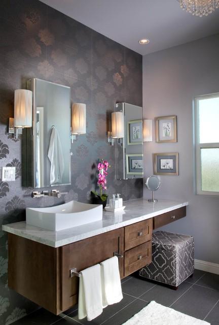 Master Bath Lake Elsinore Ca Contemporary Bathroom