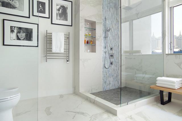 Miami penthouse with a view contemporary bathroom for Bathroom designs miami