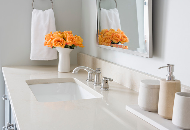 Bathroom Quartz Countertops quartz bathroom countertop | houzz
