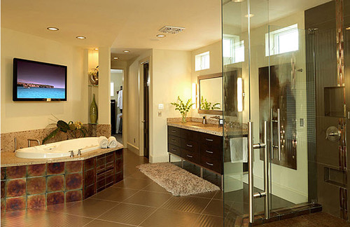 Living Costal Contemporary contemporary bathroom