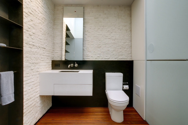 Midtown Minimal contemporary bathroom