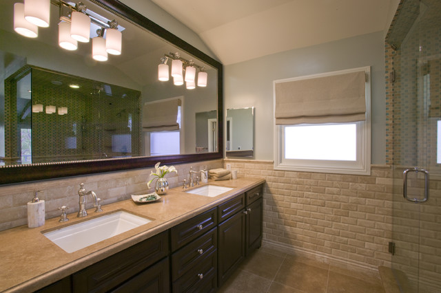 Zuniga Interiors contemporary bathroom