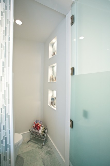 Contemporary Bathrooms With Enclosed Water Closets Contemporary Bathroom Newark By