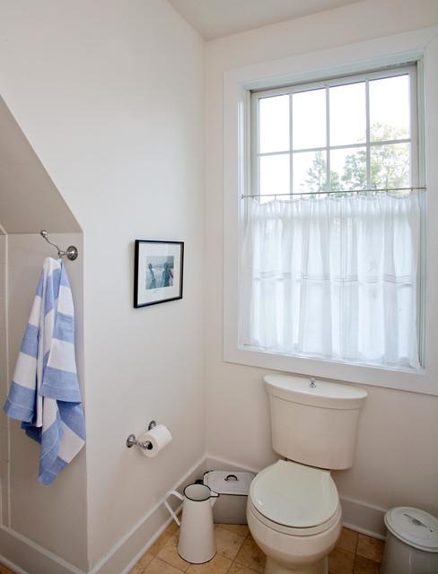 Contemporary Cape in Bucks County, PA traditional-bathroom