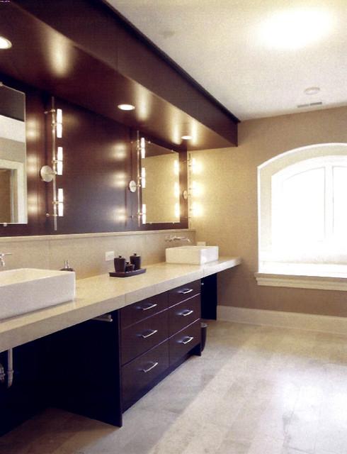 Contemporary Cherry Bathroom contemporary-bathroom