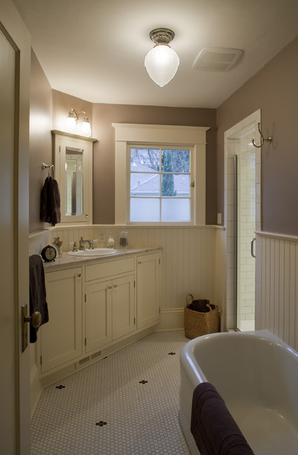 Modern Colonial Bathrooms: Contemporary Colonial Bathroom