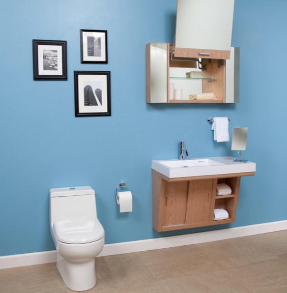 Contemporary Concepts Lacava Modern Bathroom Toronto By Del 39 Arte Design Inc