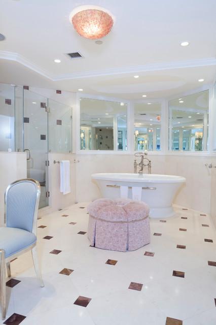 Contemporary Condo In Palm Beach Contemporary Bathroom Other Metro By A Design At