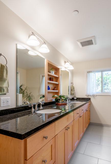 Contemporary Craftsman Bathroom Craftsman Bathroom San Francisco By Golden Visions Design