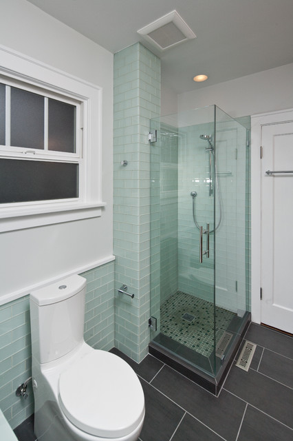 Contemporary Craftsman Contemporary Bathroom Seattle