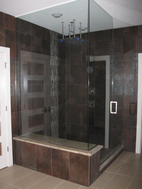 Contemporary Craftsman Style Home Craftsman Bathroom Cleveland By Eastridge Construction