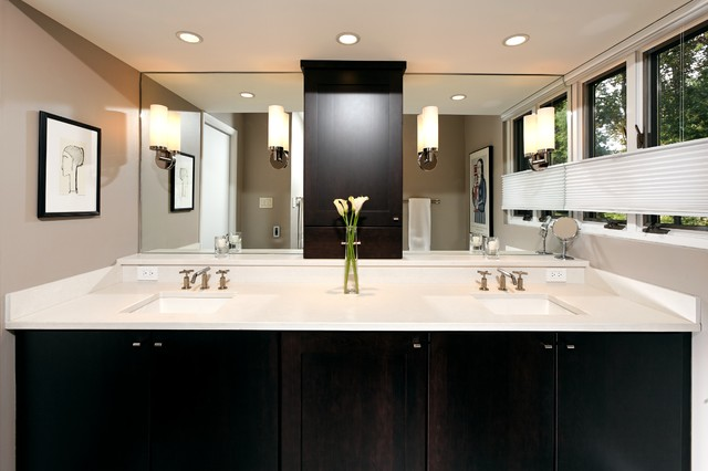 Contemporary Falls Church Bathroom Remodel Contemporary Bathroom Dc Metro