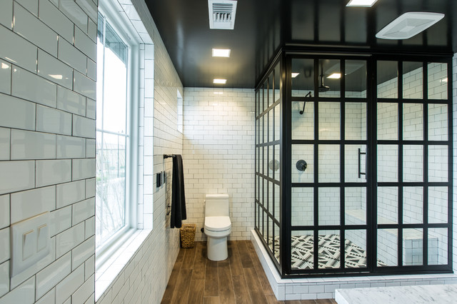 5 Industrial Bathroom Design Ideas To Glam Up Your Home: Contemporary Farmhouse