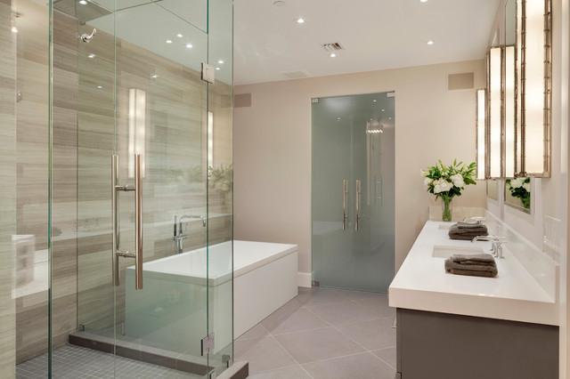 contemporary fort lauderdale condominium contemporary bathroom