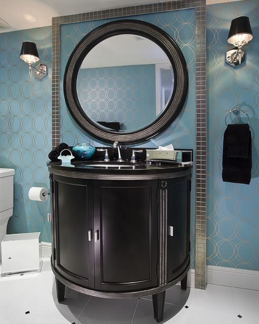 Contemporary Guest Bathroom contemporary-bathroom