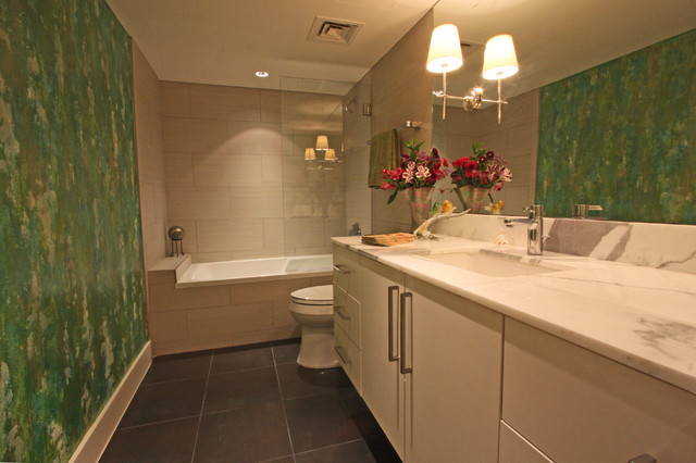 contemporary bathroom by Dena Brody, ASID, RID