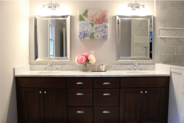 Contemporary His And Her Vanity
