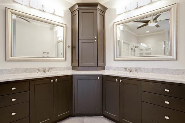 Contemporary Home Makeover traditional-bathroom