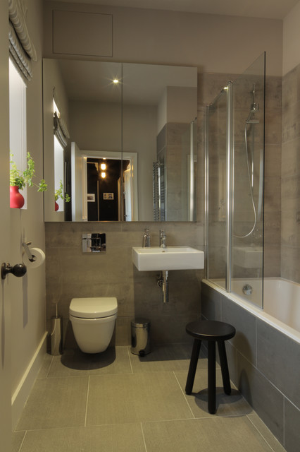 Contemporary Luxury Apartment Contemporary Bathroom Scotland By Claire Canning Design