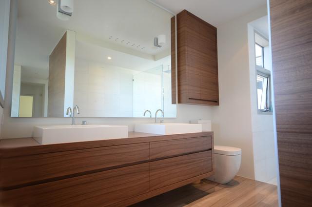 Contemporary Marble Bathroom Contemporary Bathroom