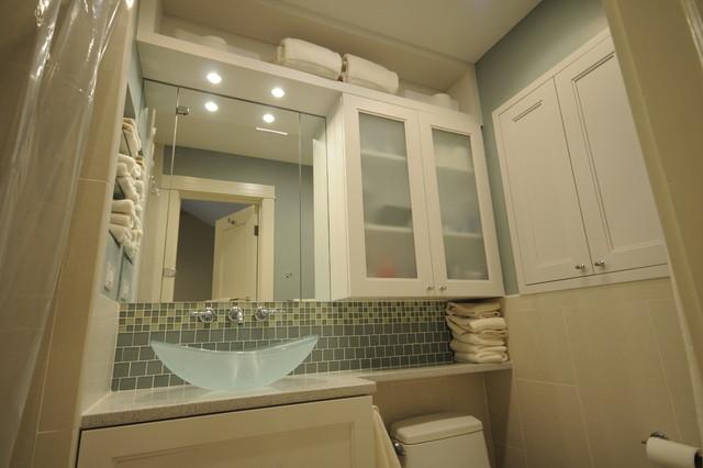 Contemporary Master Bath - Contemporary - Bathroom - dc metro - by Cherry Hill Cabinetry