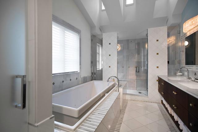 bath contemporary bathroom chicago by fredman design group