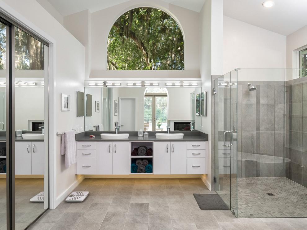 Contemporary Master Bathroom - Contemporary - Bathroom ...