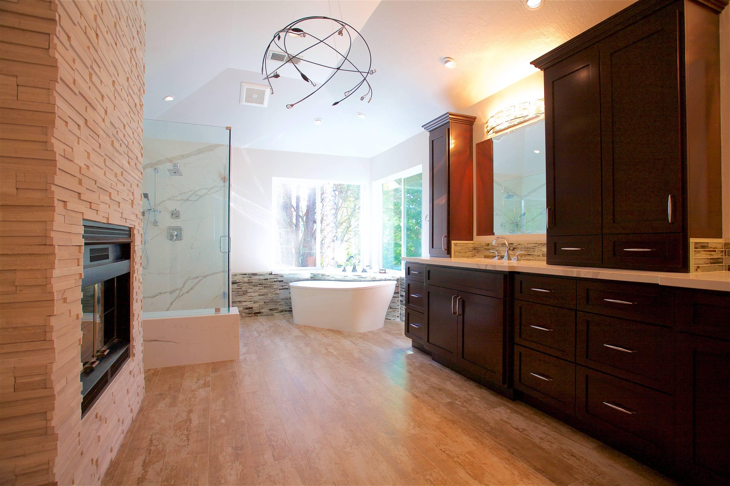 Contemporary Master Bathroom Remodel