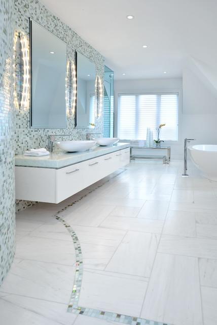 Contemporary master bedroom ensuite bath contemporary for Modern master ensuites