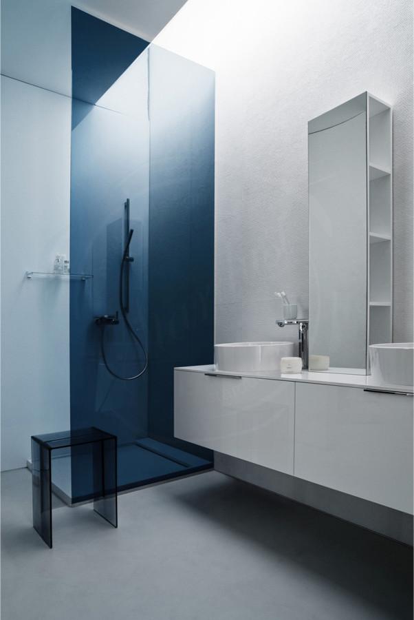 Example of a trendy bathroom design in San Francisco