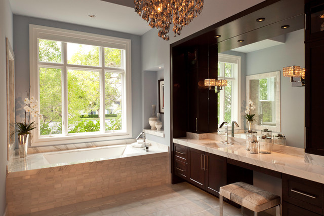 Contemporary on the water contemporary-bathroom