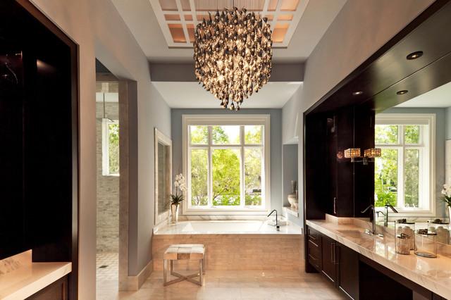 Contemporary on the water contemporary bathroom for Bathroom designs miami