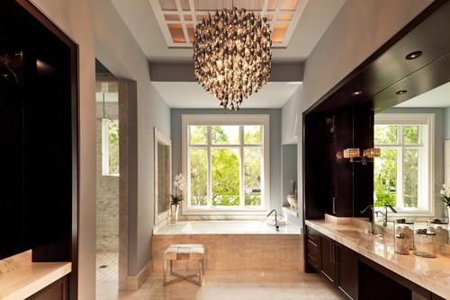 Bathroom Chandelier Houzz