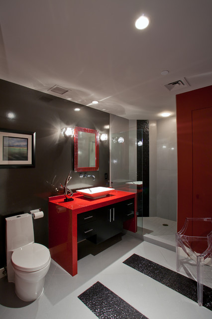 Contemporary Phoenix Condo Contemporary Bathroom Phoenix By Chris Jovanelly Interior Design