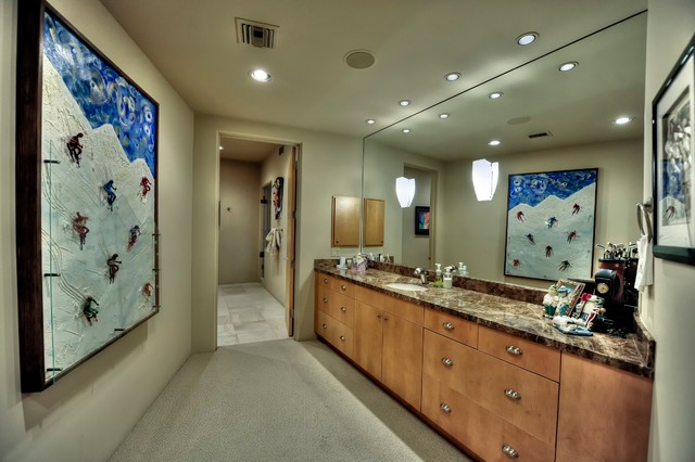Contemporary Project traditional-bathroom